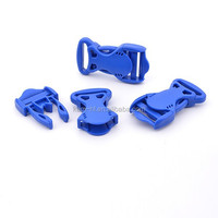 Plastic special design bag buckles blue dress buckles