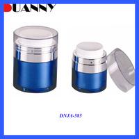 15ml 30ml 50ml Round Acrylic Airless Pump Jar 30ml For Skin Care