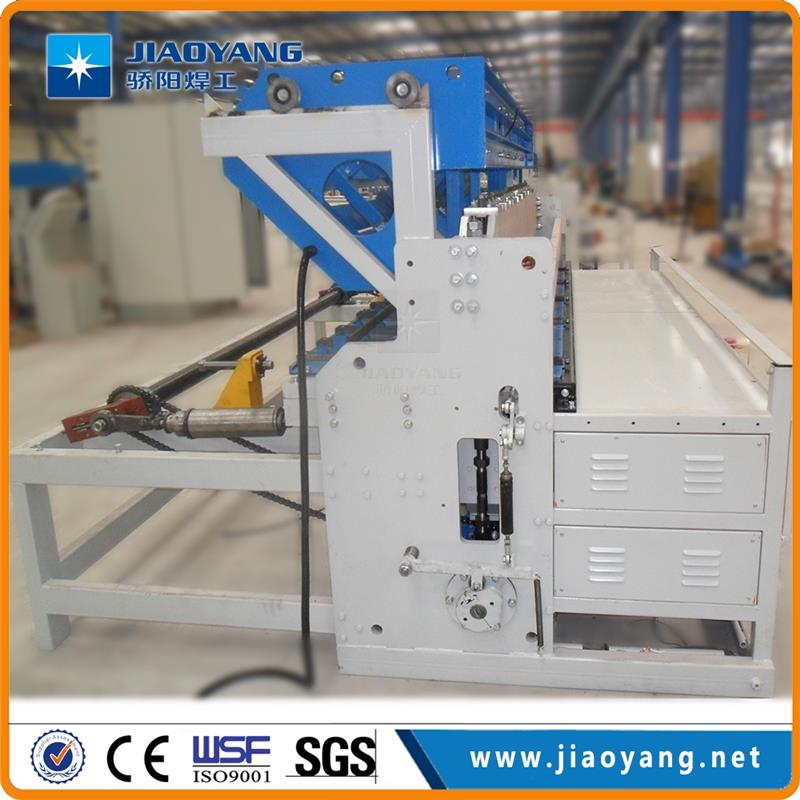 Two Operators For Working Steel Reinforced Concrete Mesh Making Machine