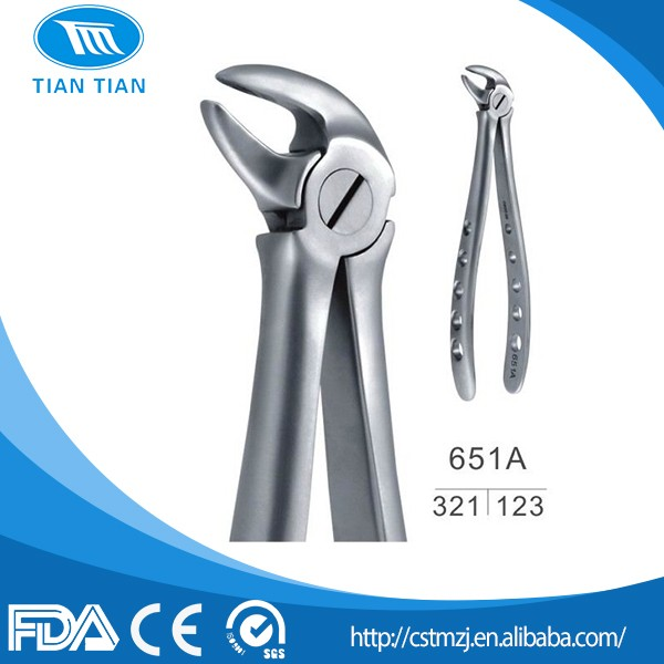 Tiantian Surgical Dental Instrument Dental Tooth Extraction Forceps for Adult and Children