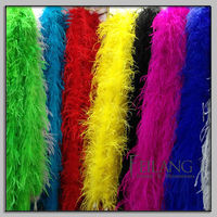Retail ostrich feather boa in large stock