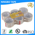 Super Shipping clear Packaging Tape --6 Rolls