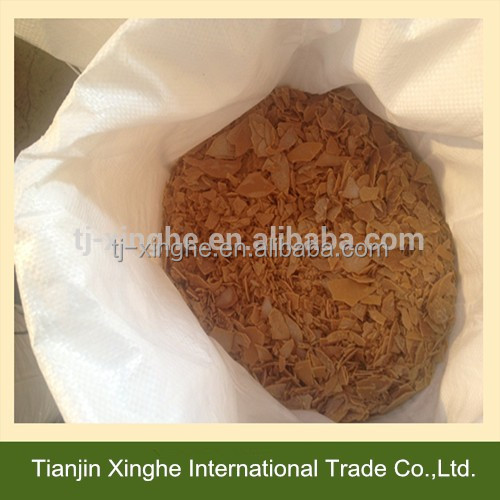 Sodium hydrosulfide yellow flakes for mining industry