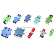 Optical Flange Adaptor Coupler SC/LC/FC/ST Fiber Optic Adapter