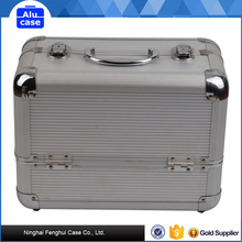 New Design aluminum make up/cosmetic storage box