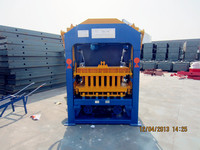 QT4-15 Automatic cement sand hollow block making machines