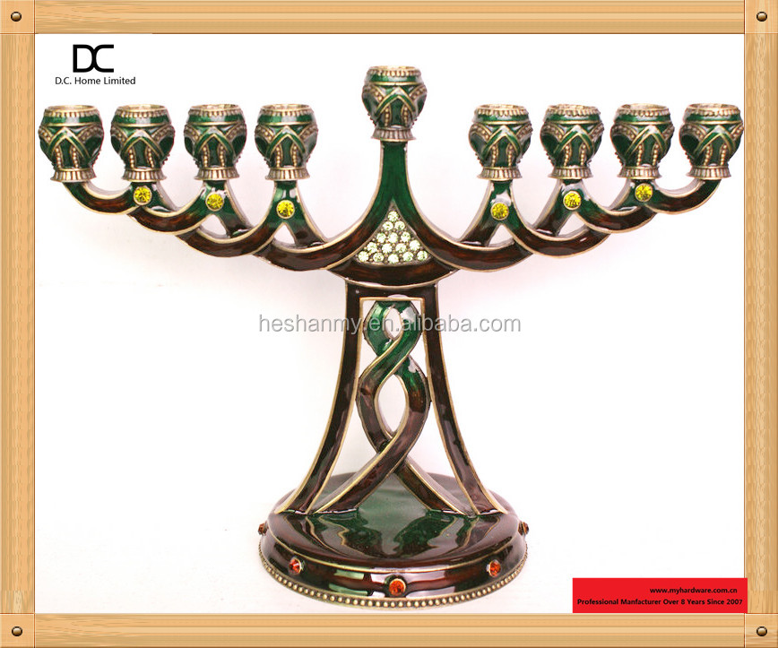 Judaica votive candle holder
