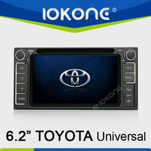 Car DVD player GPS system radio RDS for Toyota universal HiLux / Innova 06-11 / Fortuner / Altis / Fj 200 / CROWN / RAV