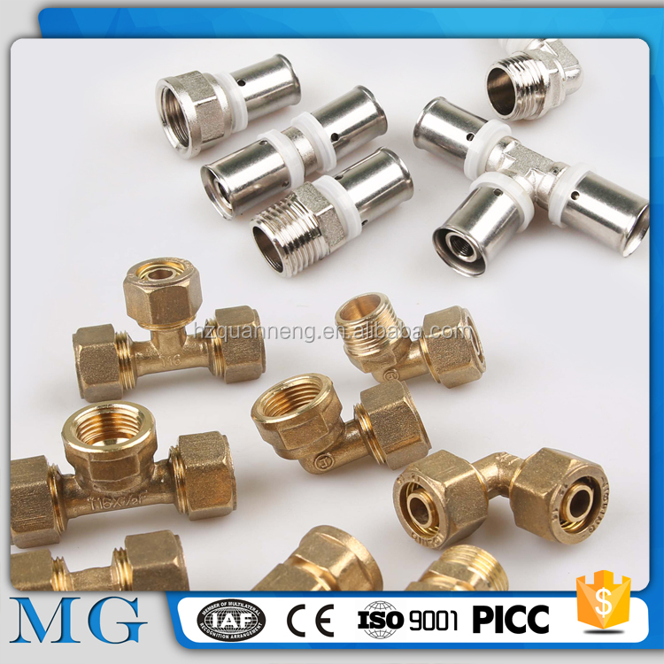 wholesale brass sanitary bathroom plumbing pipe construction fittings pipe connection type ppr fitting
