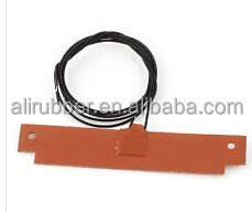 silicone pad heater for lithium cell