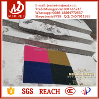 Out door PVC material plastic floor mat for protection, clean and anti-slip