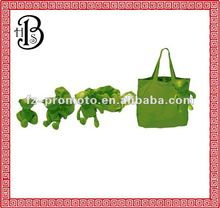 foldable bear shopping bag