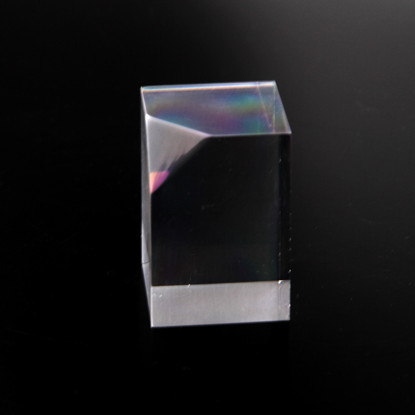 laser etched acrylic block trapeziform glass block