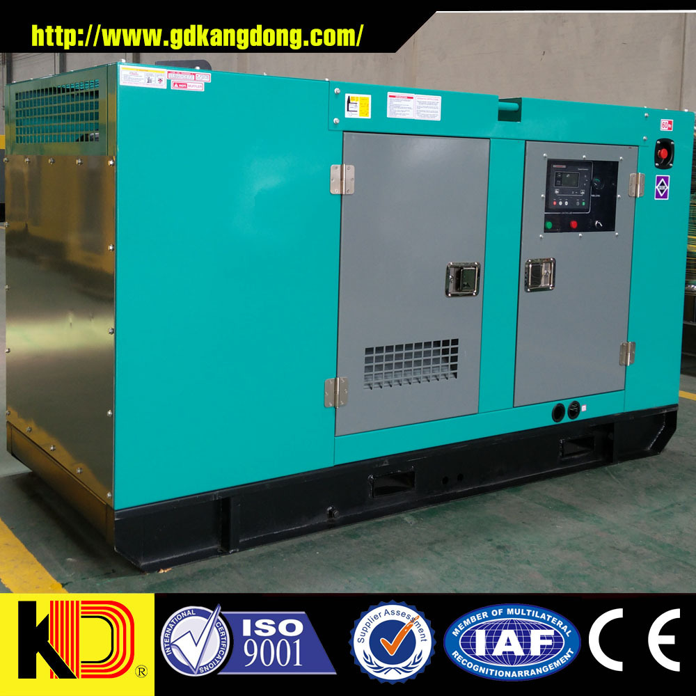 Electric AC Motor 62.5kva 50kw Copper Brushless Self-excitation Diesel Generator with Cummins Engine