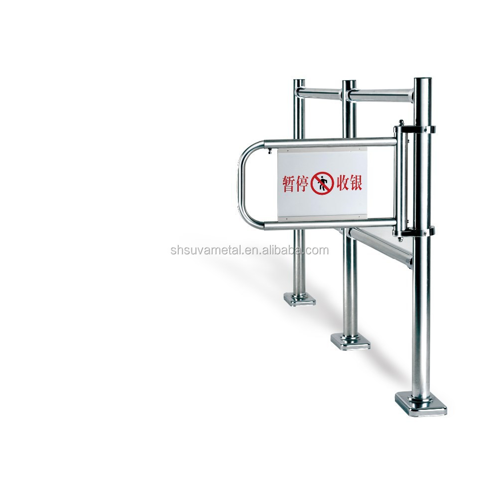 Cashier Exit Gate,safety turnstile pedestrian supermarket checkout security gate