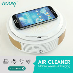 trending hot products luxury car air freshener with wireless mobile charger
