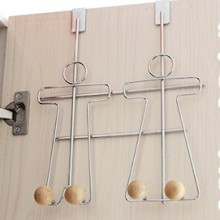 wood clothes Hook Over the Door Rack Hanger for Hanging Clothes