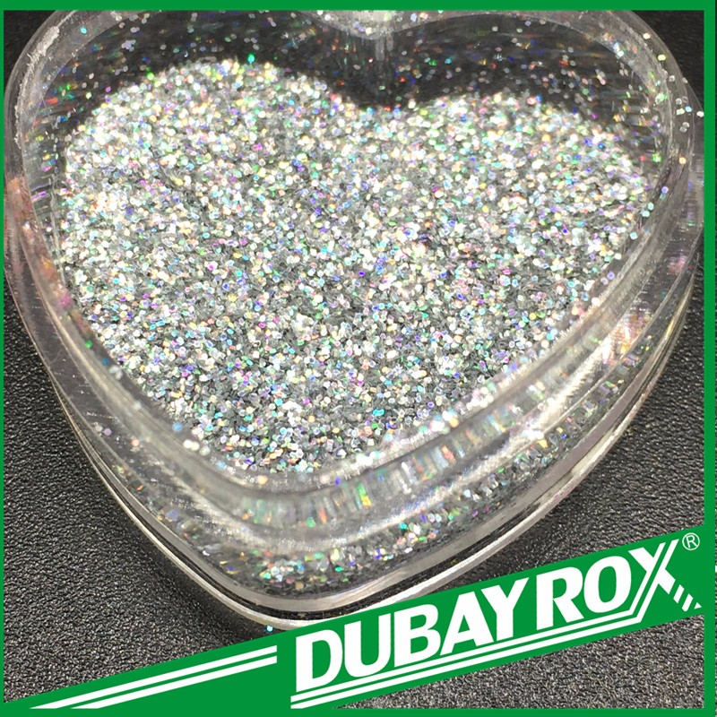 Silver Holographic Chunky Glitter COSMETIC GLITTER