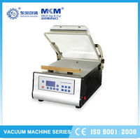 hot selling semi automatic vacuum clothes bag packaging machine for fruit DZ-300T