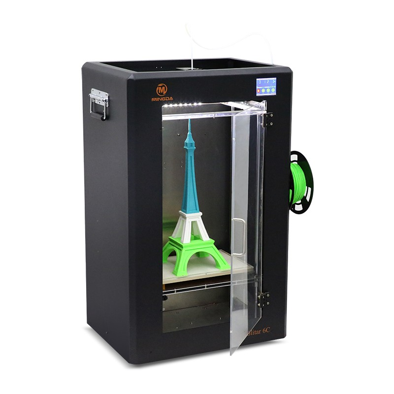 2016 China Manufacturer NEW Large 3D Printer 300*200*600mm Colorful Metal Frame FDM 3D Printing Machine High Resolution On Sale