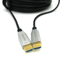 home theater <strong>projector</strong> hdmi aoc cable 4K at 60Hz 18Gbps AOC Fiber Optic HDMI fiber cable 45m