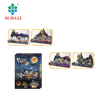 Halloween Gift Toys Educational 3D Puzzle DIY Toy for Kids