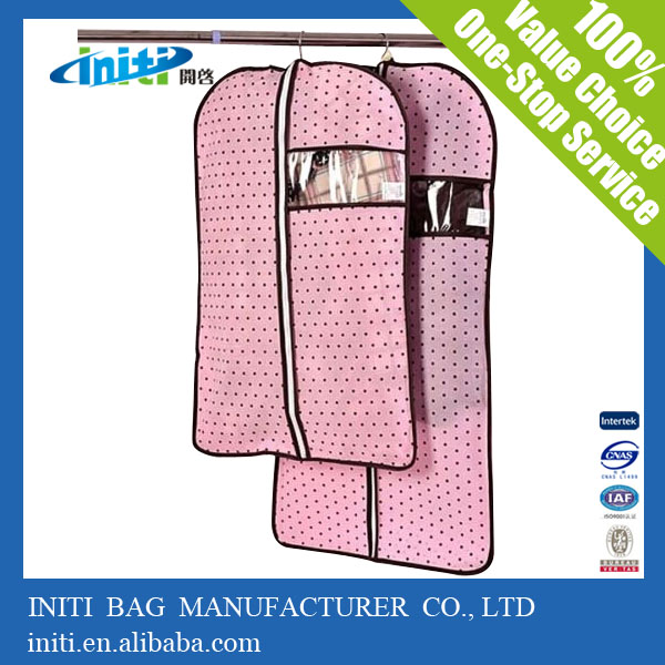 Factory Price Logo Printed Upright Garment Bag