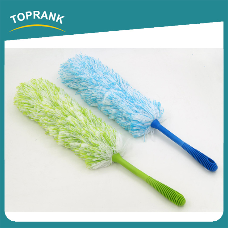 Toprank China OEM Manufacture Factory Supplier Household Microfiber Flexible Duster Microfiber Static Duster Air Duster