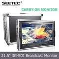 "Professional 21.5"" IPS Panel Full HD SDI Monitor with high resolution 1920x1080 pixels wide viewing angle"