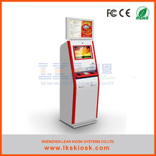 lottery kiosk with cash and coin payment LKS8502