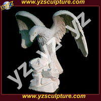 garden large white marble eagle statue for sale