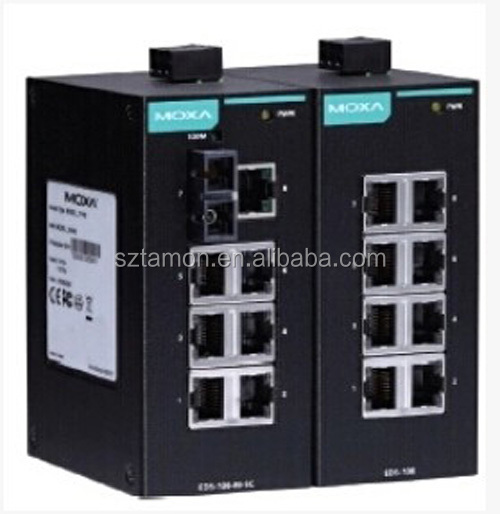 MOXA EDS - 408 - a eight mouth of eight industrial Ethernet switch