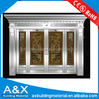 Main Entrance Stainless Steel Door/ Good Quality