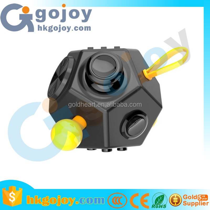 2017 new arrivals Novelty Mini Cube Toy Best Quality Silicone Fidget Cube High Quality Fidget toys For Girl Boys Childre