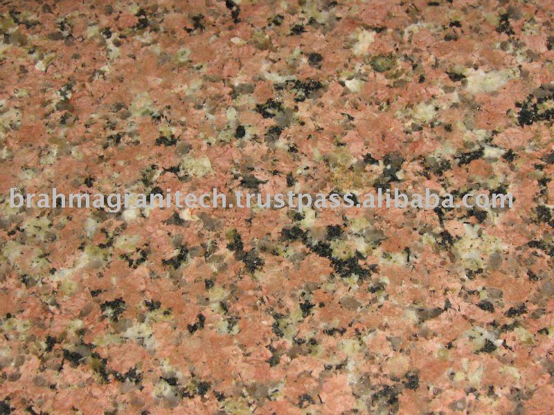 World Hardest pink granite