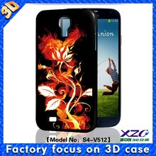 Full protection 3D art flower bumper case soft TPU case for samsung galaxy case for S3/S4/S5
