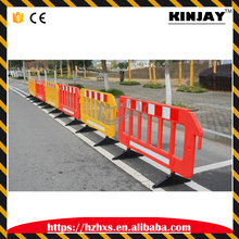 2M plastic red yellow safety fence decorative barrier for safety fence