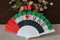 cool promotional plastic hand fan on hot sales