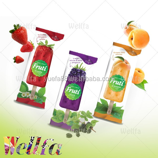 Clear Laminated Plastic Wrapping Bags Wholesale for Ice Lolly Packaging
