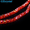 cheap cube faceted gemstone beads