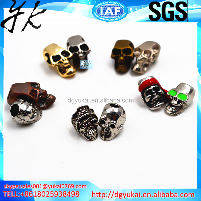 Yukai all kinds of skull beads, special skull beads, DIY skull beads bracelets