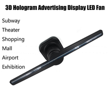 LED Fan Holographic Imaging 3D Naked Eye LED Fan 3D Hologram Advertising Display