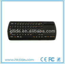 Gtide small wireless keyboard with touchpad