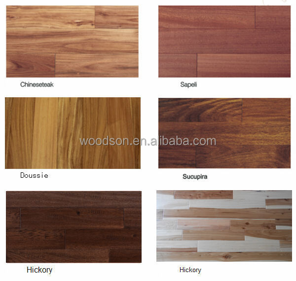Artistic Natural Small Leaf Acacia Solid Parquet Flooring
