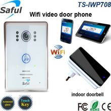 Saful TS-IWP708 New IP Video Door Phone Wireless Intercom Support 3G 4G IOS Android Wholesale and Retail Wifi Door Bell System