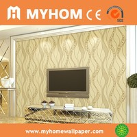 New design high quality MyHome good sale 3d design wallpaper prices of wallpapers