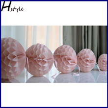 Factory Sale Colors Tissue Honeycomb Ball Decorations SD006