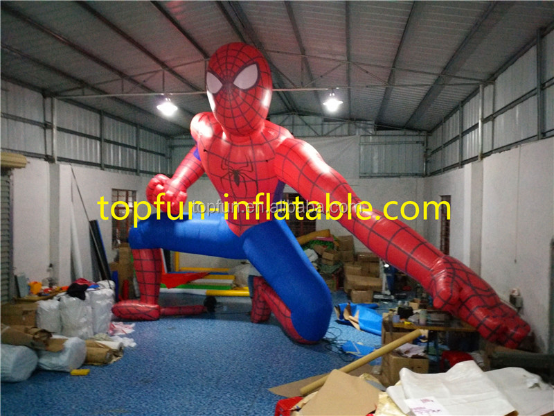 7M Attraction <strong>Inflatable</strong> Spiderman