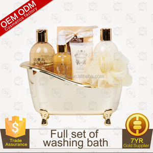 OEM/ODM Vanilla Bath Spa Gift Set