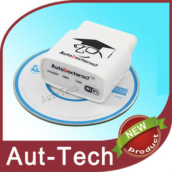 AutoDoctor007 WIFI Auto Scanner II works for all obd2 eobd car ELM327 compliant